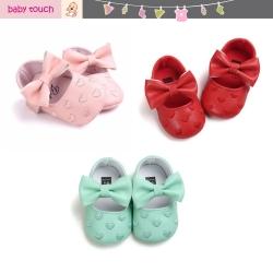 Baby Touch รองเท้าหัดเดิน หัวใจติดโบว์ (Shoes - FG9)
