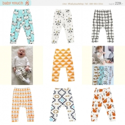 Baby Touch กางเกงเด็ก Pattern Pastel (Pants - PP)