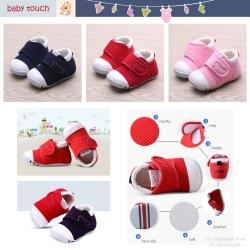 Baby Touch รองเท้าเด็ก รองเท้าพื้นแข็ง มิกกี้ (Shoes - FHM1)