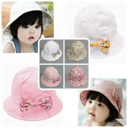 Baby Touch หมวกปีกรอบ ใส่ได้สองด้าน ลายวงกลม (Hat - DF)