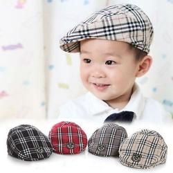 Baby Touch หมวกเด็ก บาเรตลายสก็อต (Hat - CE)