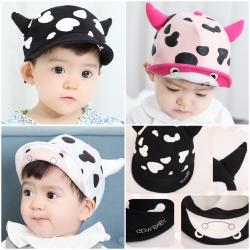 Baby Touch หมวกเด็ก พรีเมี่ยม แก๊ปวัวจุด (Hat - BH)