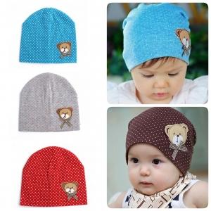 Baby Touch หมวกผ้านิ่ม หมีน้อย (Hat - FF)