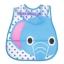 Baby Touch ผ้ากันเปื้อนเด็ก กันน้ำ (Bibs - BW) thumbnail 5