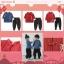 Baby Touch ชุดเด็กตรุษจีนชาย ตัวอักษร กระดุมข้าง (Clothes - CCBA) thumbnail 1