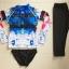 [พร้อมส่ง]ชุดว่ายน้ำแขนยาว กางเกงสามส่วน เสื้อคัลเลอร์ฟูลสีสดใส เซ็ต 3 ชิ้น เสื้อ+บิกินี่+ขายาว thumbnail 6