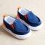 Baby Touch รองเท้าเด็ก รองเท้าพื้นแข็ง ทรงผ้าใบ สลิปออน (Shoes - FHV1) thumbnail 2
