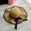 หมวกทรงWide brim สีกาแฟ ONE SIZE thumbnail 1