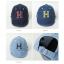 Baby Touch หมวกเด็ก พรีเมี่ยม แก๊ปยีนส์ตัวอักษร H (Hat - AO) thumbnail 1