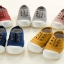 รองเท้าเด็ก รองเท้าพื้นแข็ง ทรงผ้าใบ รูเชือก (Shoes - FHV2) thumbnail 1