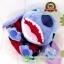 ตุ๊กตา Cutie Stitch อ้าปากชุดแดง 10 นิ้ว [Disney Stitch] thumbnail 5