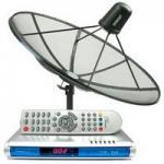 จานดาวเทียม INTELSAT17 M-PEG4 HD (อินเดีย) ราคา 9,500 บาท พร้อมติดตั้ง รับประกัน 1 ปี
