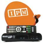 ชุดจานดาวเทียม IPM 60 ซ.ม.+ LNBF + RECEIVER IPM UP SD ราคา 1,350 บาท พร้อมติดตั้ง 2,500 บาท รับประกัน 1 ปี