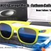 Oakley Garage Rock Fathom - Neon Yellow / Ice Iridium Lens