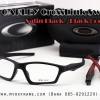 OAKLEY CROSSLINK SWEEP 55mm (SATIN BLACK / BLACK)