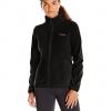 Columbia Women's Adventure Ridge Full Zip Fleece Jacket สำหรับอุณหภูมิ 7 ถึง 10 องศา - Black