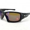 Oakley Ten : Polarized Fishing Collection - Polished Black / Shallow Blue Polarized Lens