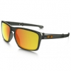 Oakley Sliver Folding : Polarized Collection - Matte Olive Ink / Fire Iridium Polarized Lens
