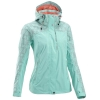 QUECHUA Women's Waterproof Jacket (Sky Blue)