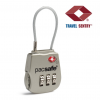 PACSAFE | Prosafe 800 TSA accepted 3-dial cable lock
