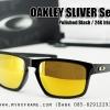 Oakley Sliver (AsianFit) Polished Black / 24K Iridium Lens
