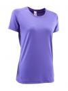 Quechua T-Shirt เดินป่า สำหรับผู้หญิง - Violet (Size S)