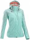QUECHUA Women's Waterproof Jacket (Sky Blue)