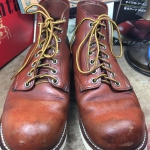 **** Red wing 8166 size 7D -25cm เหมาะกับเท้าเบอร์ 40-41****