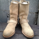 RED WING 8268 ENGINEER BOOTS 2 BUCKLE
