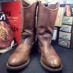 Vintage red wing 2265 safety work boots size 6D หัวเหล็ก