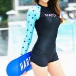 ชุดว่ายน้ำแขนยาวกัน UV ทูพีช