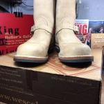 Wesco engineer boot size 9E