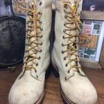 61. Gorilla logger safety work boot size 5.5D