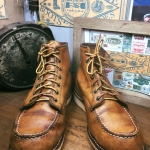38.Vintage RED WING 875 made in USA size 8.E