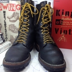 Vintage HATHORN BOOT MFG SPOKANE WA USA size 10.5D