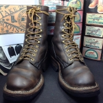 Vintage smoke jump boots size 10 D ด้านใน28cm