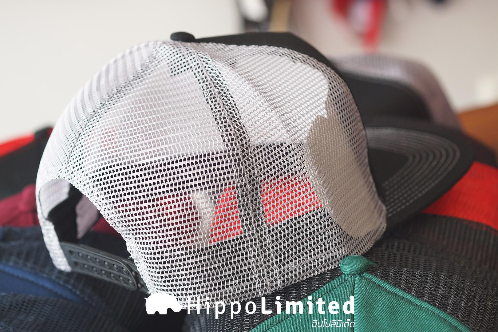 หมวก Thrasher Logo Mesh Cap - Gray