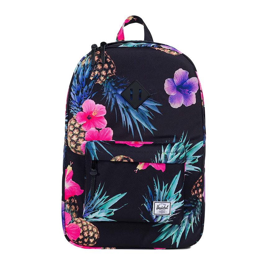 Herschel Heritage Backpack - Black Pineapple
