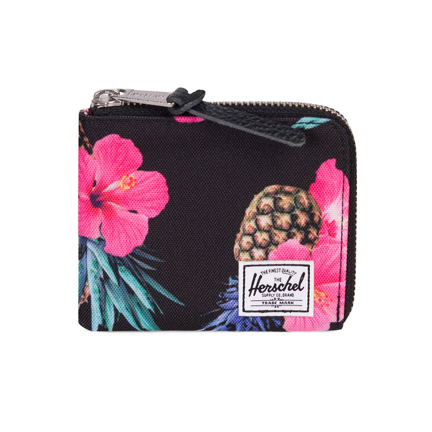 Herschel Johnny Wallet - Black Pineapple / RFID