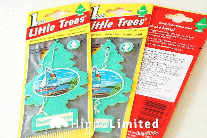 แผ่นน้ำหอม Little Trees กลิ่น Bayside Breeze