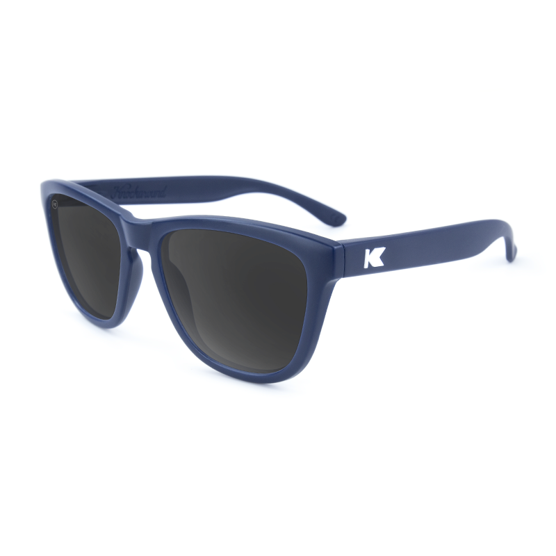 แว่น Knockaround Premiums Sunglasses - Navy Blue / Smoke