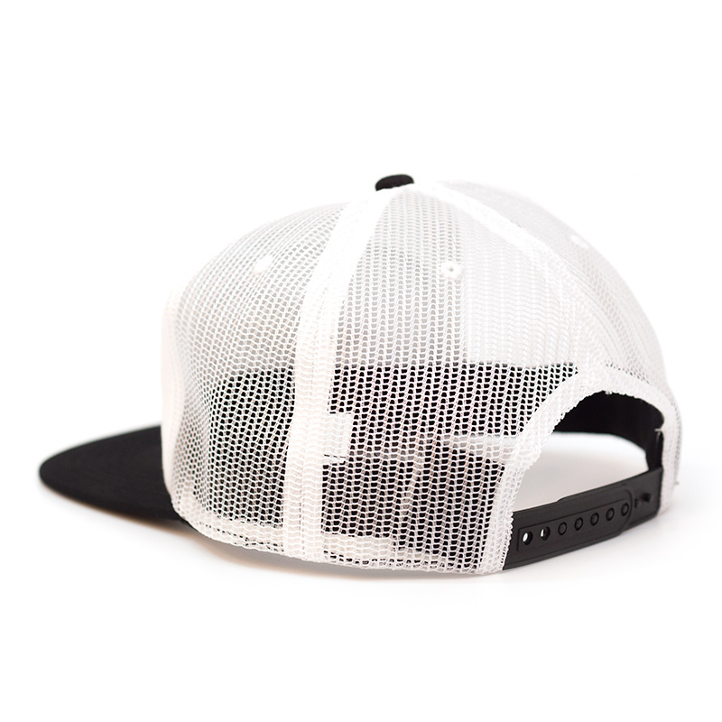 Thrasher Diamond Emblem Trucker Hat - White
