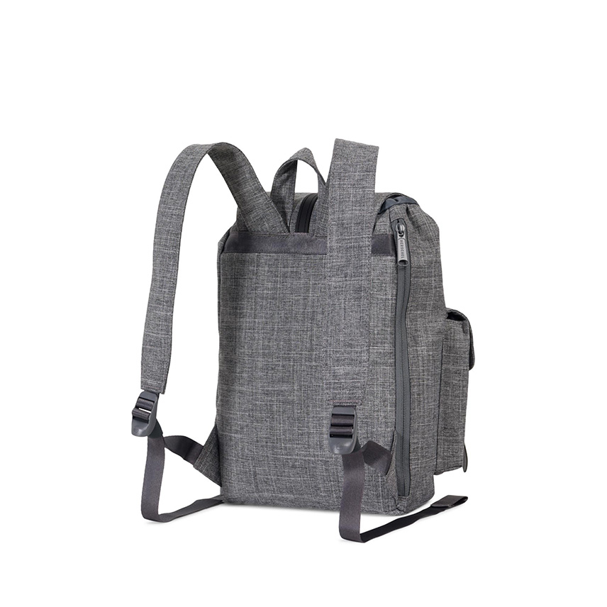 Herschel Dawson Backpack | XS - Raven Crosshatch / Black -ด้านหลัง