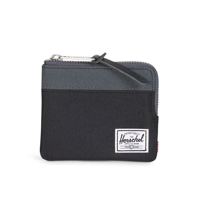 Herschel Johnny Wallet - Black / Dark Shadow