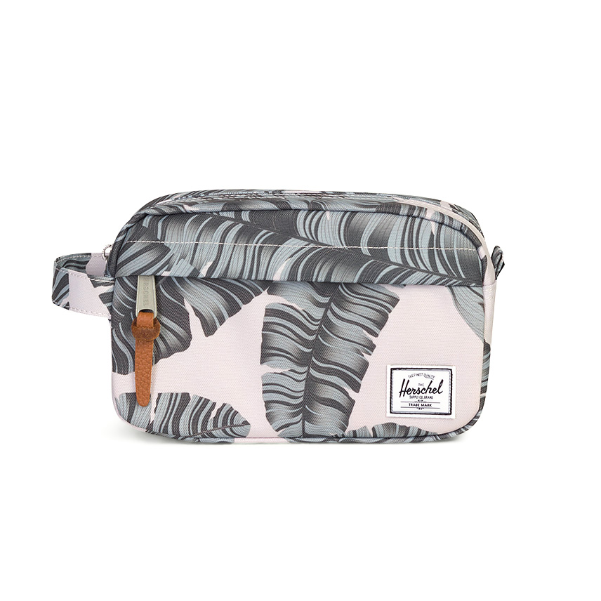 Herschel Chapter Travel Kit | Carry-On - Silver Birch Palm