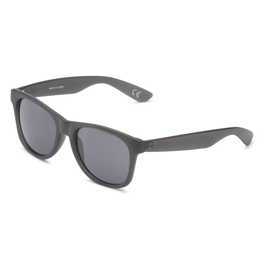 Vans Spicoli 4 Sunglasses - Black Frosted Translucent