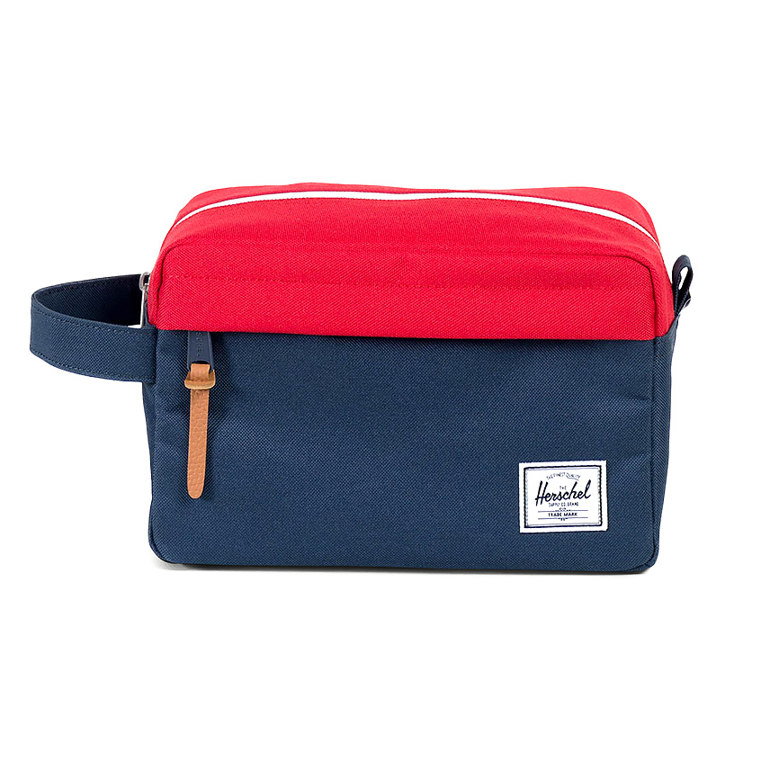 Herschel Chapter Travel Kit - Navy / Red