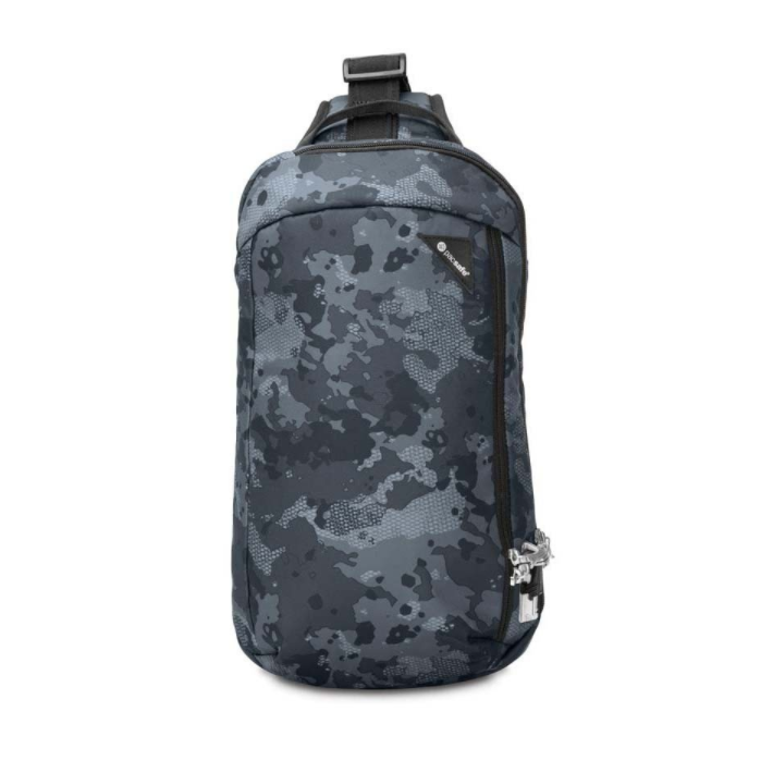 PACSAFE | Vibe 325 Anti-Theft Cross Body Pack (Grey Camo)