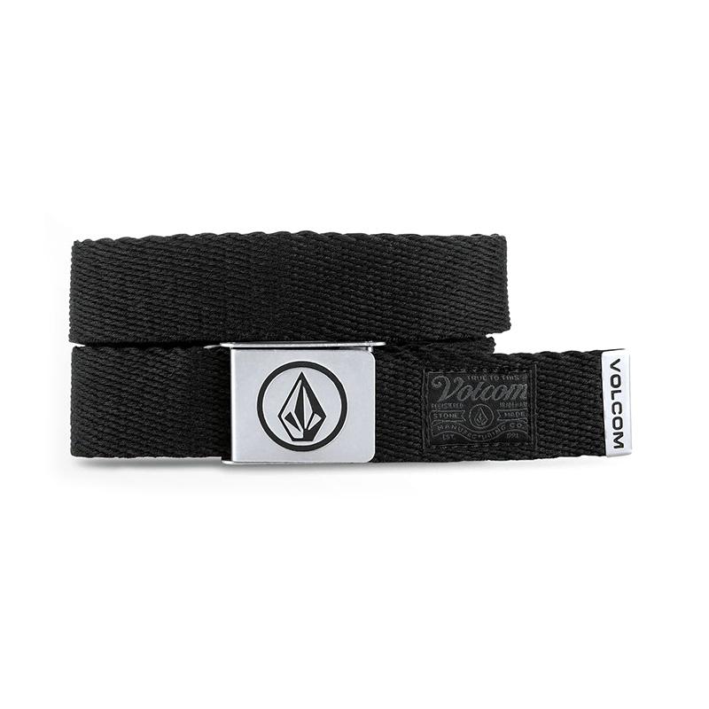 Volcom Circle Web Belt - Stoney Black