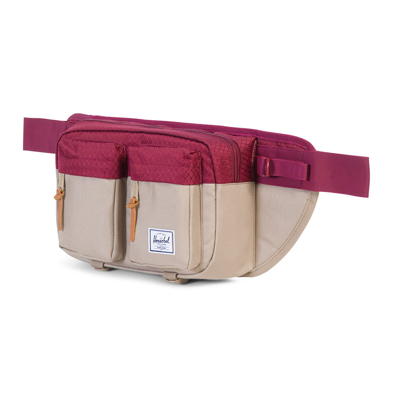 Herschel Eighteen Hip Pack - Brindle / Windsor Wine